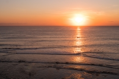 Sonnenuntergang von Single Fin